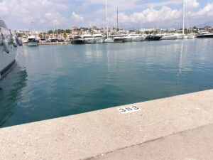 30 x 7 Port Vauban Antibes For Sale